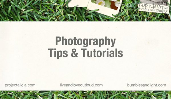 Photography Tips & Tutorials FREE e-book