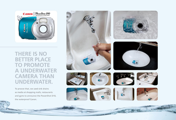 Canon: Waterproof Camera Sticker