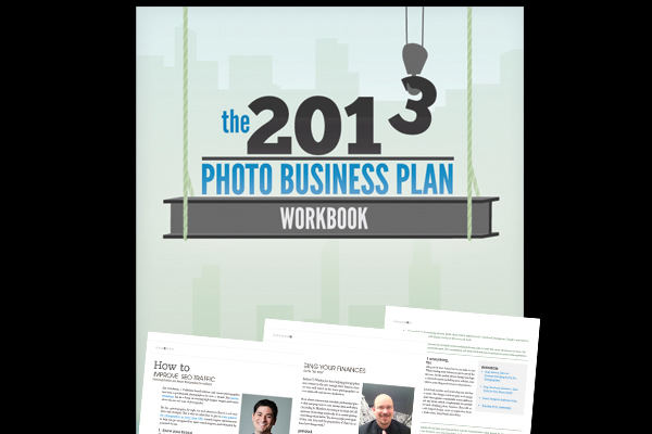 The 2013 Photo Business Plan Workbook