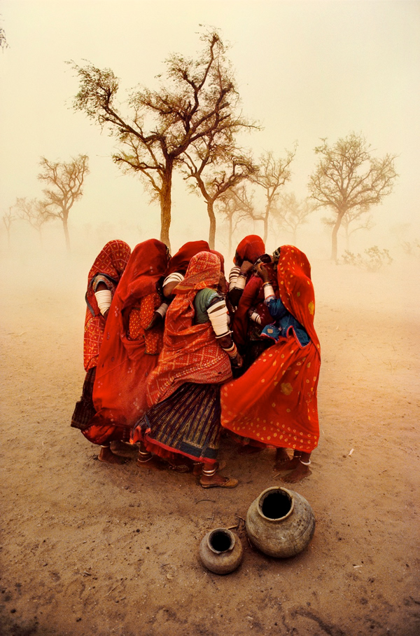 Dust Storm by Steve McCurry