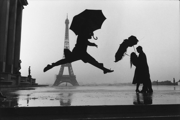 Eiffel tower 100th anniversary by Elliott Erwitt