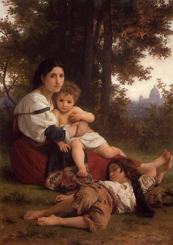 Mother and Children, 1879