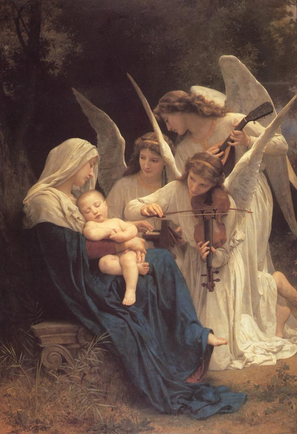 Virgin With Angels, 1881