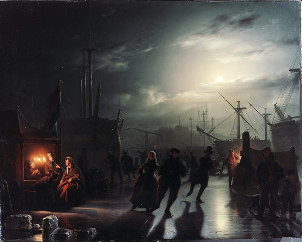 Classic Street Paintings By Petrus Van Schendel