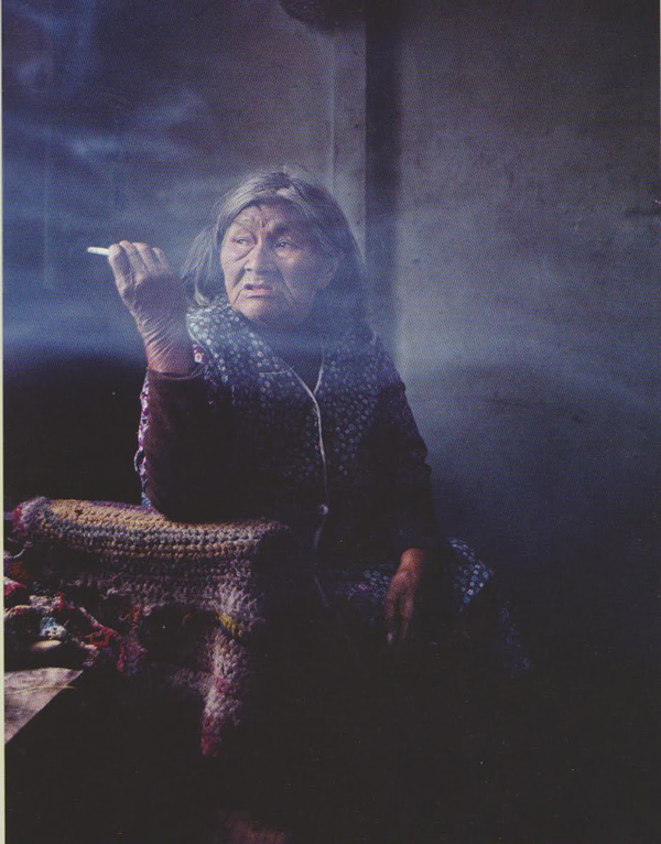 Rosa, last of the Yaghan Indians, by Sam Abell