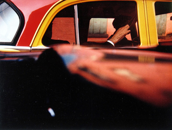 Taxi, 1957 by Saul Leiter