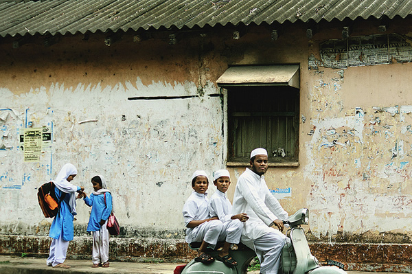 School Zone - Indian Color Street Photography