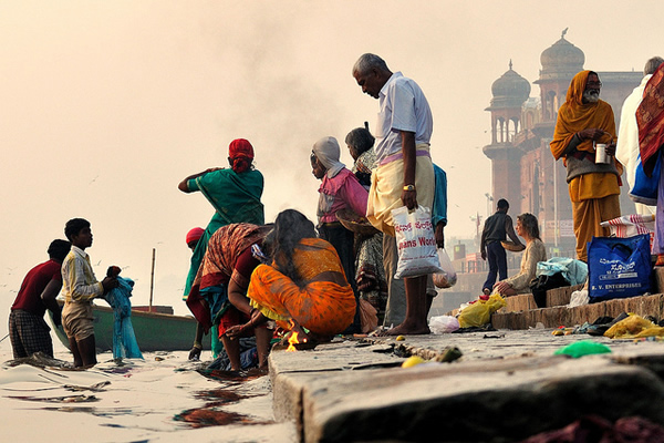Ganges Life - Indian Color Street Photography