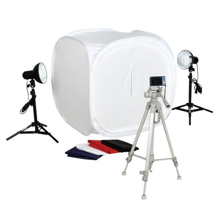 Square Perfect SP500 Platinum Photo Studio In A Box with 2 Light Tents u0026 8 Backgrounds  sc 1 st  121clicks.com & Product Photography Tips Tutorials And Videos - 121Clicks.com