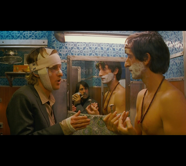 A Scene from Darjeeling Limited