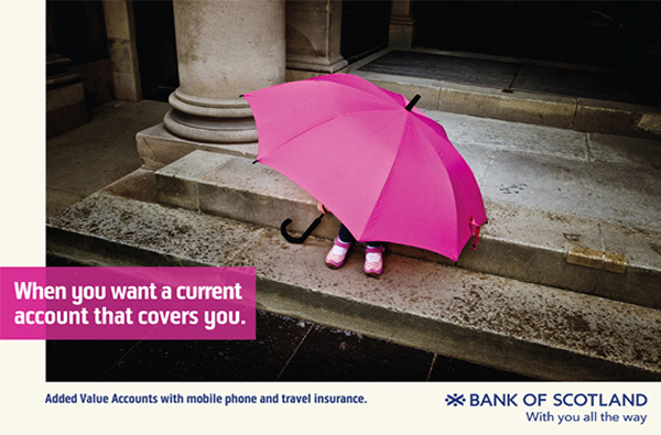 Bank of Scotland Ad