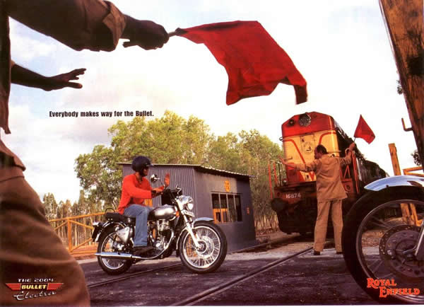 "Royal Enfield Bullet: ""Everybody makes way for the Bullet"""