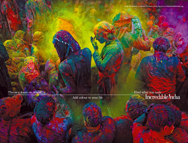 Incredible India - Celebrate Holi