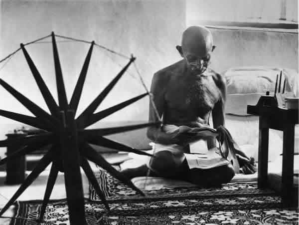 Mahatma Gandhi by Margaret Bourke