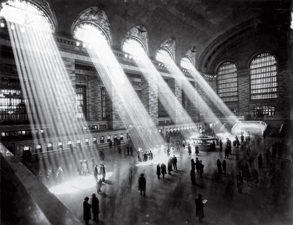 Grand Central Station by Hal Morey