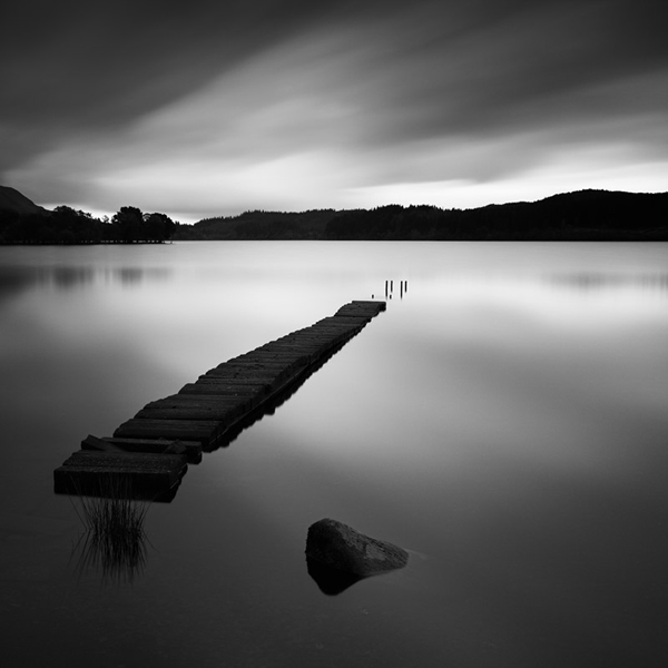 Fine Art Landscape Series - Nowhere by Michel Rajkovic