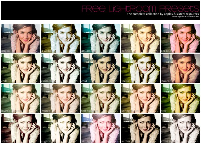 Lightroom Presets Collection