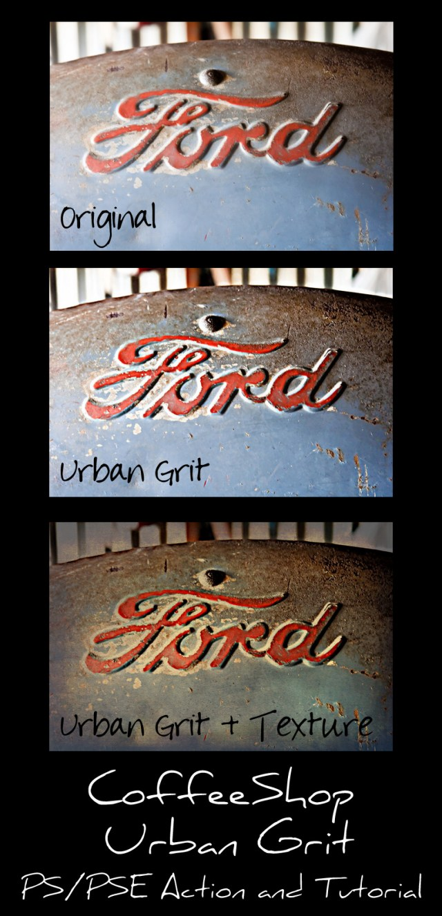 Urban Grit Photoshop Action
