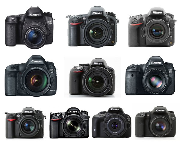 10 Most Popular DSLR Cameras among Our Readers