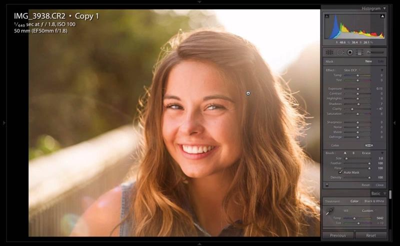Lightroom Tutorial for Beginners: Backlit Portrait Editing