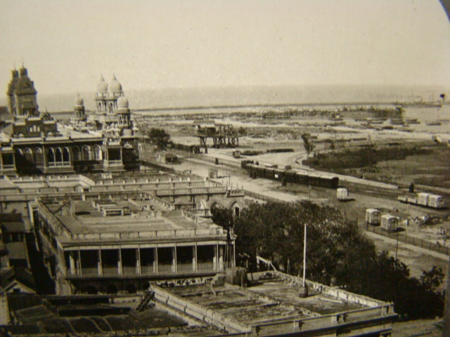 Madras (Chennai) City and Harbour - 1910