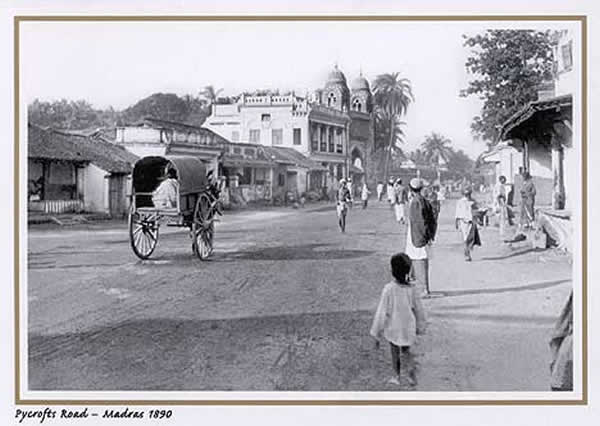 Pycrofts Road - Madras (Chennai) - 1890