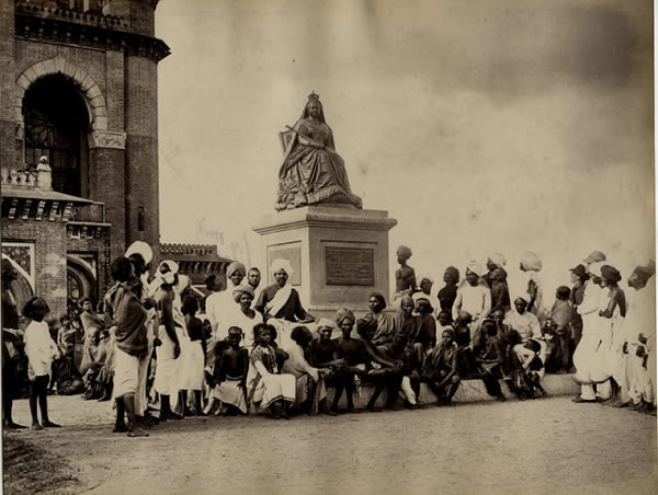 Statue of Queen Empress - Madras (Chennai) - 1880