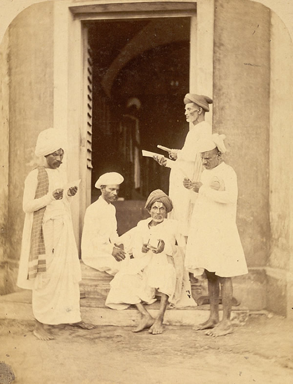 Bill Collectors - Madras (Chennai) - 1870