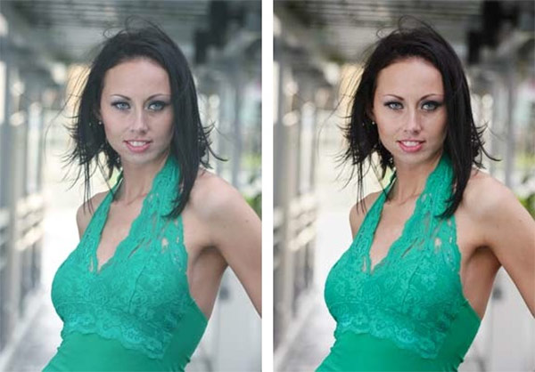 Color Correction with the Curves Eye Dropper in Photoshop
