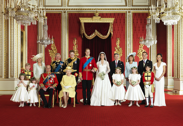 The Official Royal Wedding photographs - 1,746,023