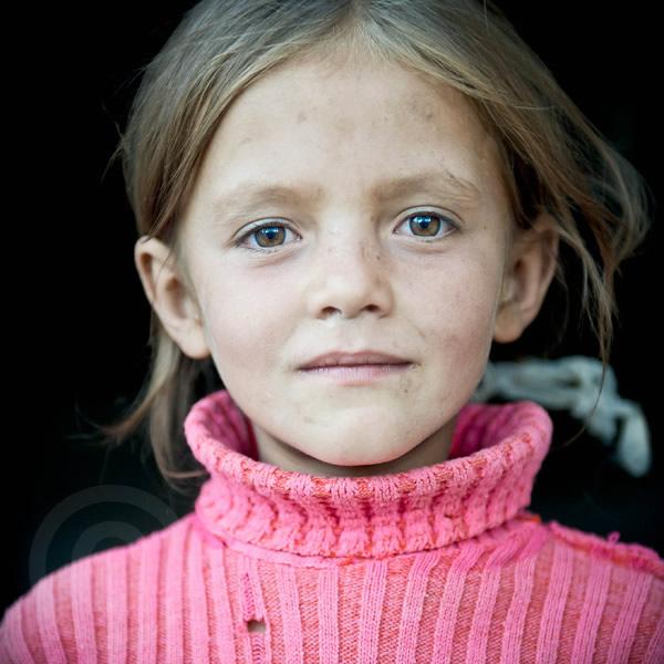 Young girl in Asia - Tajikistan