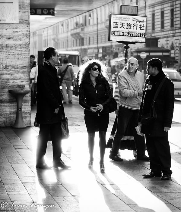 B&W Street Photography Processing Tutorial Using Lightroom & Nik Silverefex Pro2