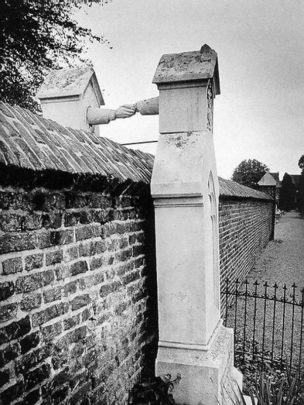 A Catholic woman and her protestant husband laid to rest in Holland, 1888.