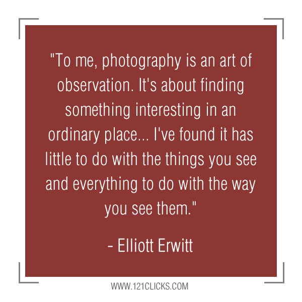 Inspiring Photography Quotes from Master Photographer Elliott Erwitt