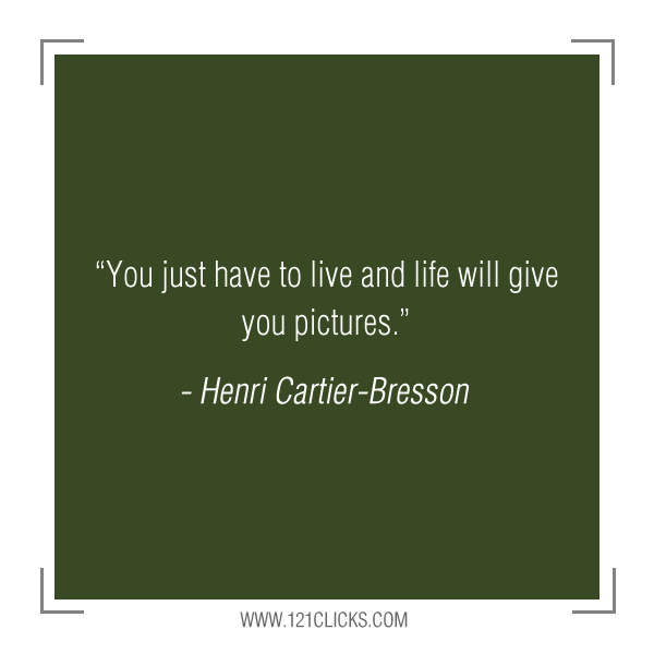 Inspiring Photography Quotes from Henri Cartier-Bresson