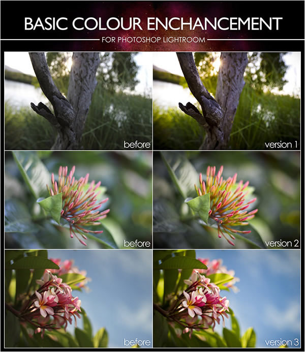 Basic Colour Enhance Lightroom Presets