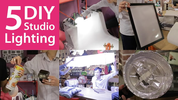 5 Very Useful DIY Lighting Setups You Can Try at Home