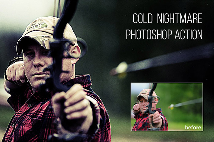 Cold Nightmare Photoshop Actions