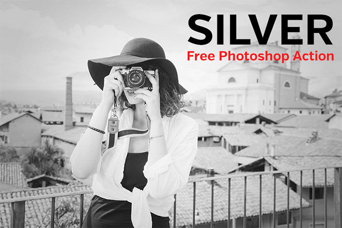 Silver Photoshop Action