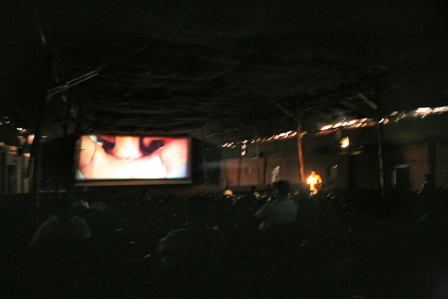 Tent Moments - Photo Story About The Disappearance Of The Travelling Cinema By Pradeep K S