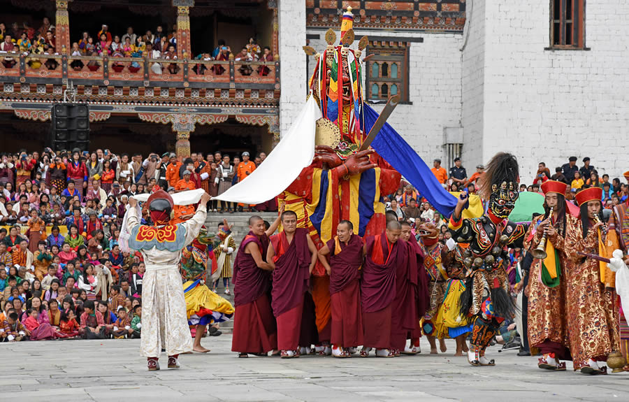 Essence Of Thimphu Tshechu - Photo Story by Tania Chatterjee