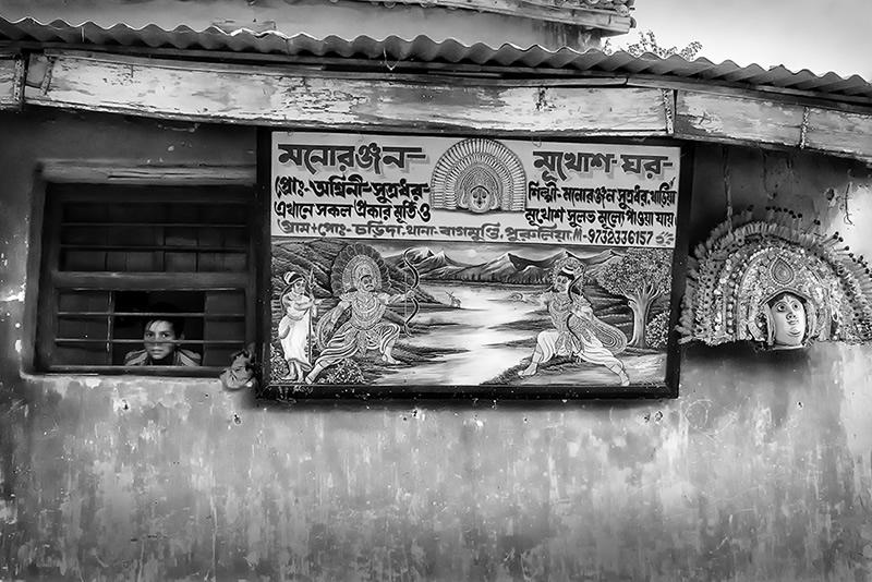 Masked Reality - A Photo Story About Chhau Dance By Santanu Dey