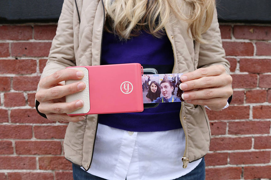 This Amazing Phone Case Prints Instant Pictures Like A Polaroid