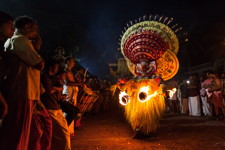 Theyyam: The Human God - Photo Story By Shyjith Kannur
