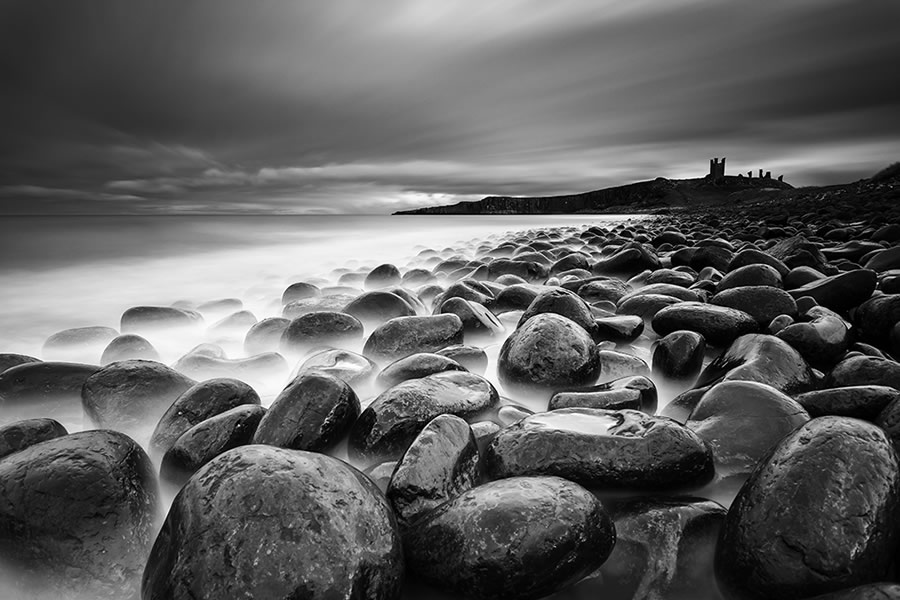 Expert 7th / Crowd 10th: 'Dusk' by David Ball - Location: Death Rocks, Dunstanburgh Castle, England
