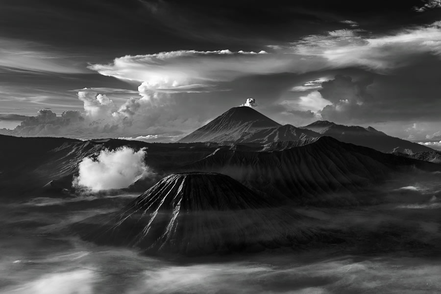 Crowd 7th: 'Morning View of Mt. Bromo' by Pradeep Raja - Location: Indonesia