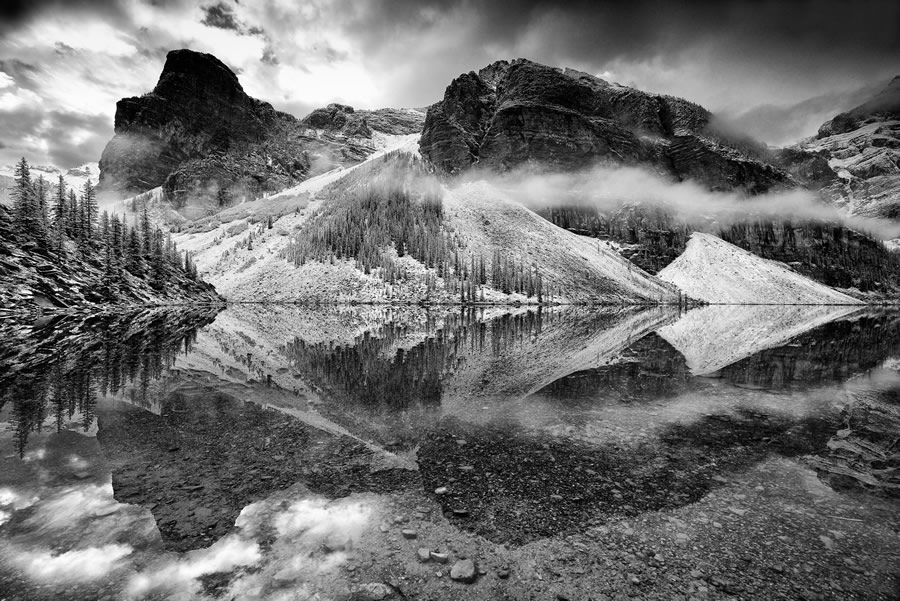 Crowd 4th / Expert 6th: 'Nature's symmetry' by Trevor Cole - Location: Alberta, Canada