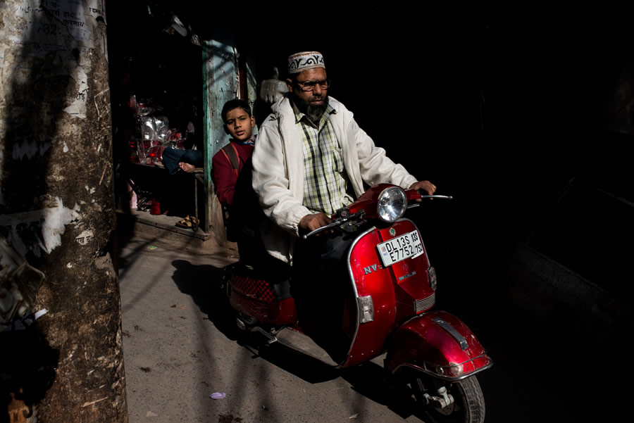 Half Dark Worlds - Street Photography Series By Pushkar Raj Sharma