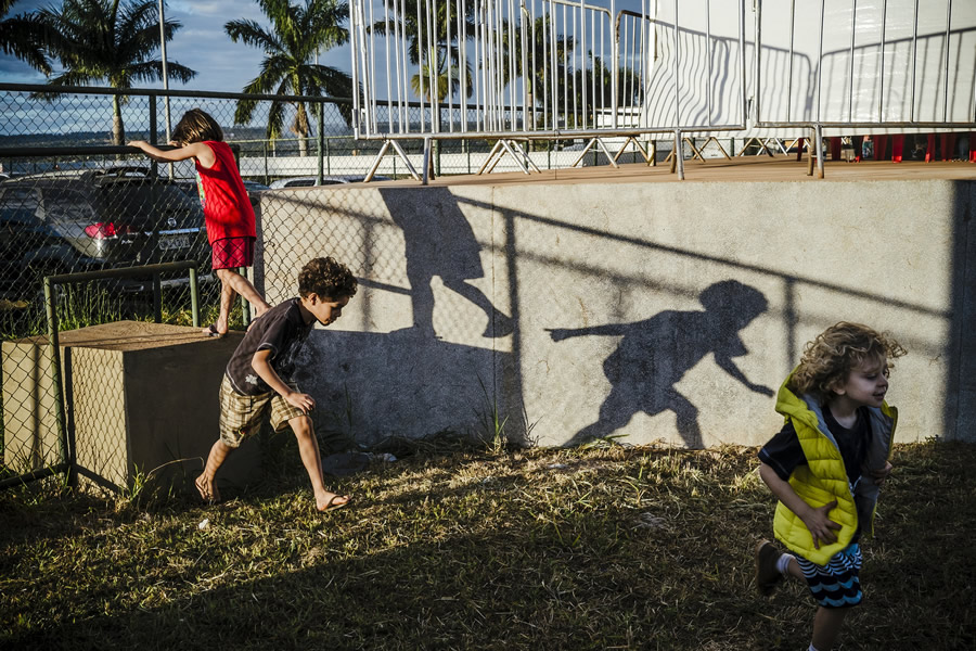 Kids and Shadows - Street Photography and the art of composition photos