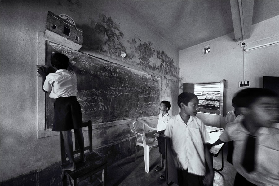 Child Education - Photo Series By Indian Photographer Ranita Roy